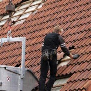 Meisterin auf dem Dach